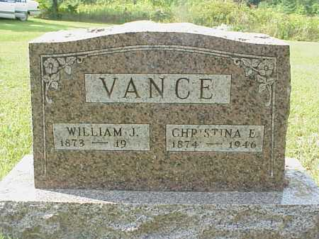 VANCE, CHRISTINA E. - Meigs County, Ohio | CHRISTINA E. VANCE - Ohio Gravestone Photos