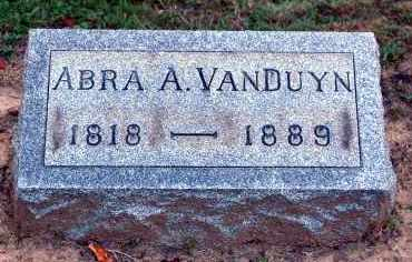 VANDUYN, ABRA A. - Meigs County, Ohio | ABRA A. VANDUYN - Ohio Gravestone Photos