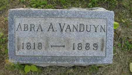 VANDUYN, ABRA A - Meigs County, Ohio | ABRA A VANDUYN - Ohio Gravestone Photos