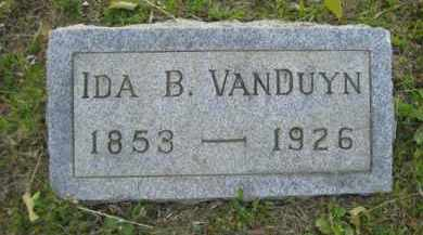 VANDUYN, IDA B - Meigs County, Ohio | IDA B VANDUYN - Ohio Gravestone Photos