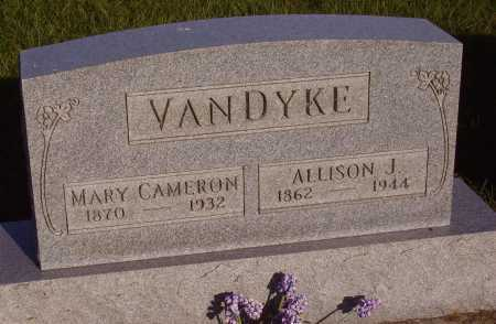 VANDYKE, MARY CAMERON - Meigs County, Ohio | MARY CAMERON VANDYKE - Ohio Gravestone Photos