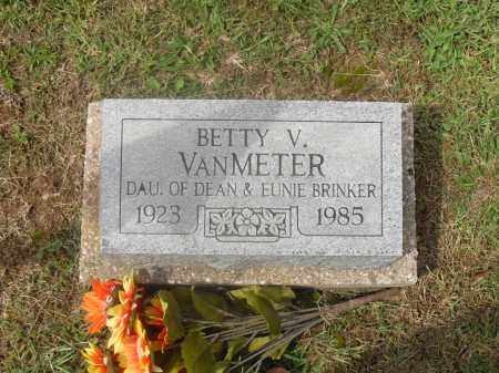 VANMETER, BETTY V. - Meigs County, Ohio | BETTY V. VANMETER - Ohio Gravestone Photos
