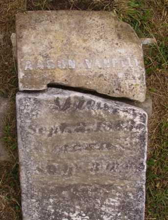 VANPELT, AARON - Meigs County, Ohio   AARON VANPELT - Ohio Gravestone Photos