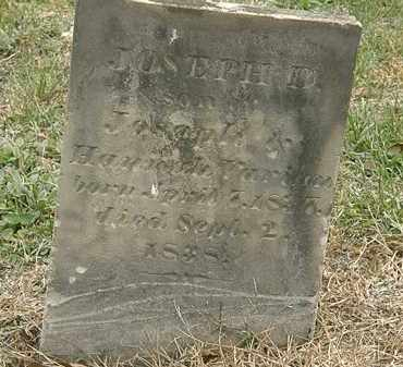 VARIAN, JOSEPH - Meigs County, Ohio | JOSEPH VARIAN - Ohio Gravestone Photos