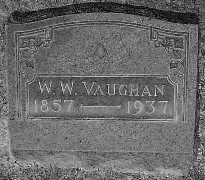 VAUGHAN, W.W. - Meigs County, Ohio | W.W. VAUGHAN - Ohio Gravestone Photos