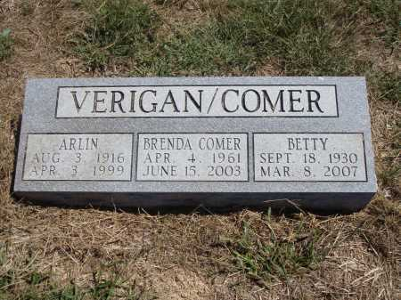 VERIGAN COMER, BRENDA - Meigs County, Ohio | BRENDA VERIGAN COMER - Ohio Gravestone Photos
