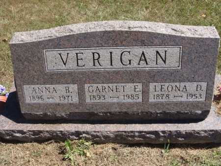VERIGAN, ANNA - Meigs County, Ohio | ANNA VERIGAN - Ohio Gravestone Photos