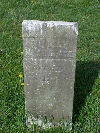 VICKERS, HANNAH E. - Meigs County, Ohio | HANNAH E. VICKERS - Ohio Gravestone Photos