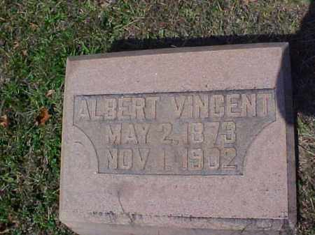 VINCENT, ALBERT - Meigs County, Ohio | ALBERT VINCENT - Ohio Gravestone Photos