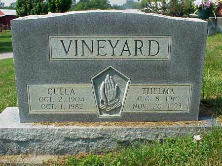 VINEYARD, CULLA - Meigs County, Ohio | CULLA VINEYARD - Ohio Gravestone Photos