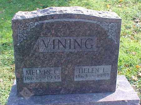 VINING, MELVIN C. - Meigs County, Ohio | MELVIN C. VINING - Ohio Gravestone Photos