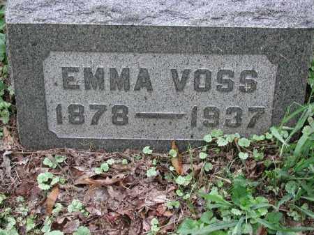 VOSS, EMMA - Meigs County, Ohio | EMMA VOSS - Ohio Gravestone Photos