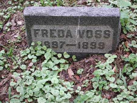 VOSS, FREDA - Meigs County, Ohio | FREDA VOSS - Ohio Gravestone Photos