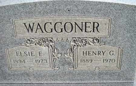 "WAGGONER, HENRY G. ""BOX CAR"" - Meigs County, Ohio 