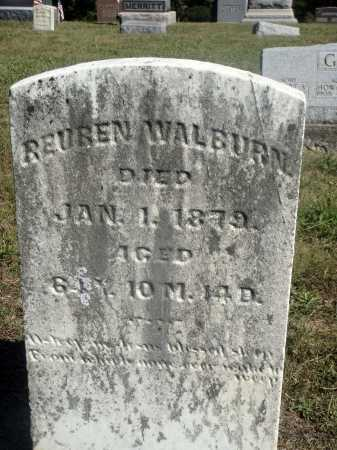 WALBURN, REUBEN - Meigs County, Ohio | REUBEN WALBURN - Ohio Gravestone Photos