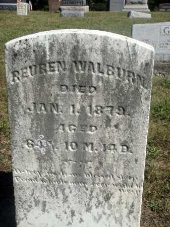 WALBURN, REUBEN - Meigs County, Ohio | REUBEN WALBURN - Ohio Gravestone Photos