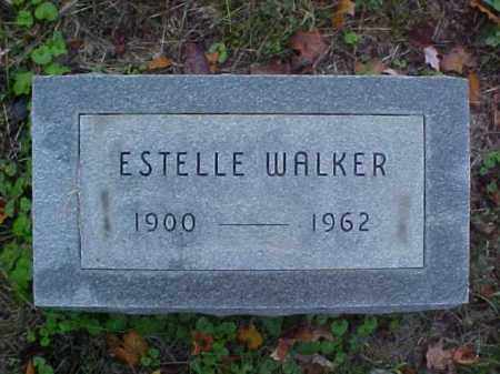 WALKER, ESTELLE - Meigs County, Ohio | ESTELLE WALKER - Ohio Gravestone Photos