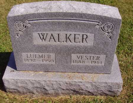 WALKER, VESTER - Meigs County, Ohio | VESTER WALKER - Ohio Gravestone Photos