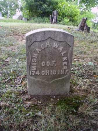WALKER, MISHACH - Meigs County, Ohio | MISHACH WALKER - Ohio Gravestone Photos