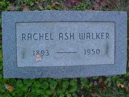 ASH WALKER, RACHEL - Meigs County, Ohio | RACHEL ASH WALKER - Ohio Gravestone Photos