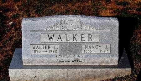 WALKER, NANCY J. - Meigs County, Ohio | NANCY J. WALKER - Ohio Gravestone Photos