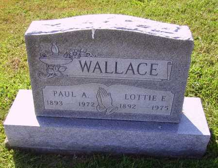 WALLACE, PAUL A. - Meigs County, Ohio | PAUL A. WALLACE - Ohio Gravestone Photos