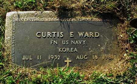 WARD, CURTIS E. - MILITARY - Meigs County, Ohio | CURTIS E. - MILITARY WARD - Ohio Gravestone Photos