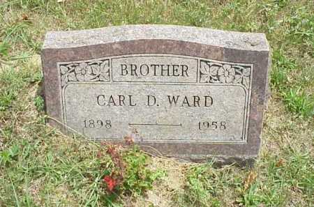 WARD, CARL D. - Meigs County, Ohio | CARL D. WARD - Ohio Gravestone Photos