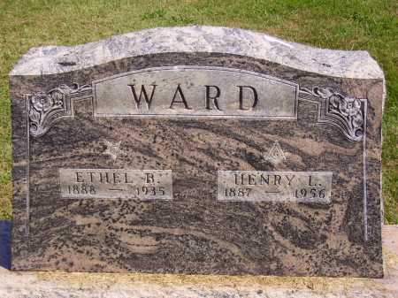 WARD, ETHEL B. - Meigs County, Ohio | ETHEL B. WARD - Ohio Gravestone Photos