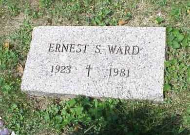 WARD, ERNEST S. - Meigs County, Ohio | ERNEST S. WARD - Ohio Gravestone Photos