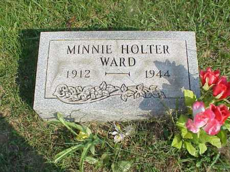 HOLTER WARD, MINNIE - Meigs County, Ohio | MINNIE HOLTER WARD - Ohio Gravestone Photos