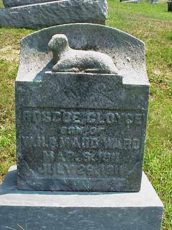 WARD, ROSCOE CLOYCE - Meigs County, Ohio | ROSCOE CLOYCE WARD - Ohio Gravestone Photos