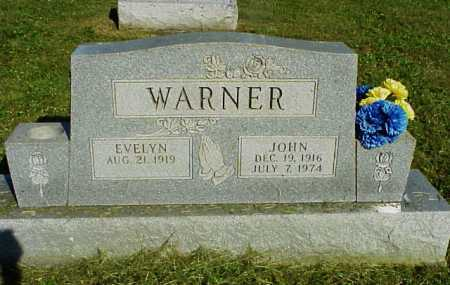 WARNER, JOHN - Meigs County, Ohio | JOHN WARNER - Ohio Gravestone Photos