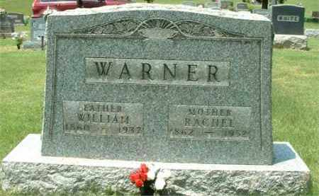 "WARNER, FREDRICA ""RACHEL"" - Meigs County, Ohio 