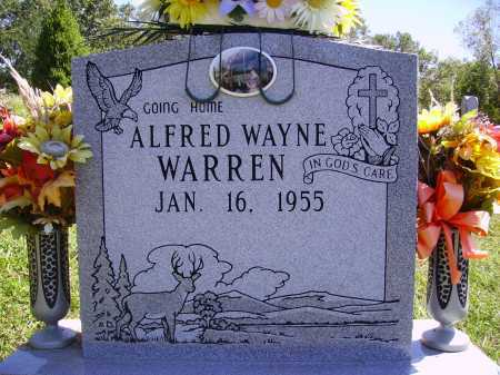 WARREN, ALFRED WAYNE - Meigs County, Ohio | ALFRED WAYNE WARREN - Ohio Gravestone Photos
