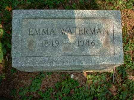 WATERMAN, EMMA - Meigs County, Ohio | EMMA WATERMAN - Ohio Gravestone Photos