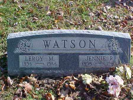 WATSON, JENNIE R. - Meigs County, Ohio | JENNIE R. WATSON - Ohio Gravestone Photos