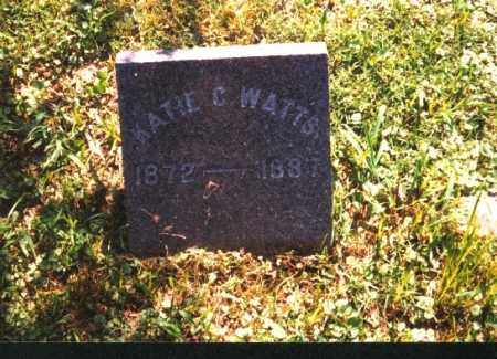WATTS, KATIE C. - Meigs County, Ohio | KATIE C. WATTS - Ohio Gravestone Photos
