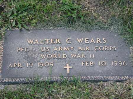 WEARS, WALTER C. - Meigs County, Ohio | WALTER C. WEARS - Ohio Gravestone Photos