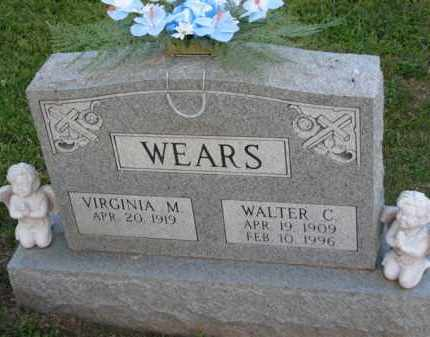 WEARS, VIRGINIA M. - Meigs County, Ohio | VIRGINIA M. WEARS - Ohio Gravestone Photos