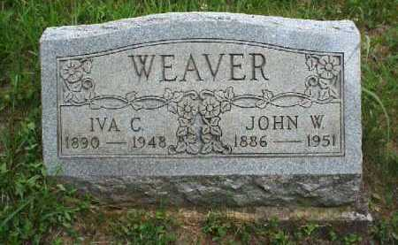 WEAVER, IVA C. - Meigs County, Ohio | IVA C. WEAVER - Ohio Gravestone Photos