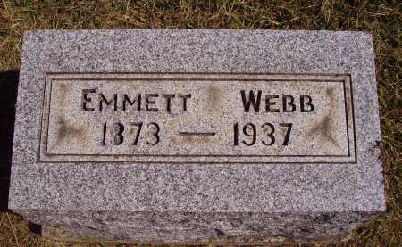 WEBB, EMMETT - Meigs County, Ohio | EMMETT WEBB - Ohio Gravestone Photos