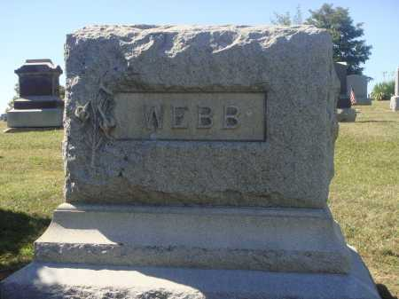 WEBB, FAMILY MONUMENT #3 - Meigs County, Ohio | FAMILY MONUMENT #3 WEBB - Ohio Gravestone Photos