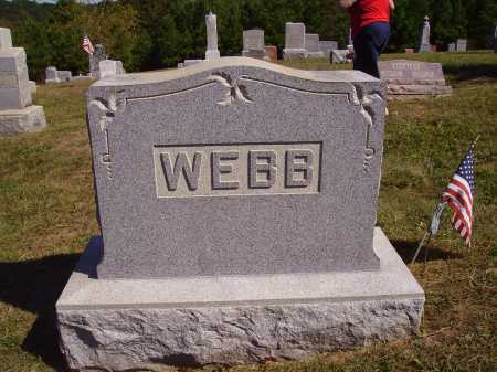 WEBB FAMILY, MONUMENT #1 - Meigs County, Ohio | MONUMENT #1 WEBB FAMILY - Ohio Gravestone Photos