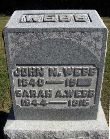 CUMMINGS WEBB, SARAH A. - Meigs County, Ohio | SARAH A. CUMMINGS WEBB - Ohio Gravestone Photos