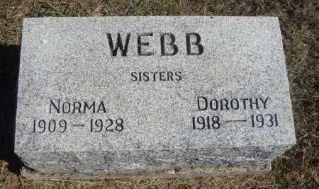 WEBB, NORMA - Meigs County, Ohio | NORMA WEBB - Ohio Gravestone Photos