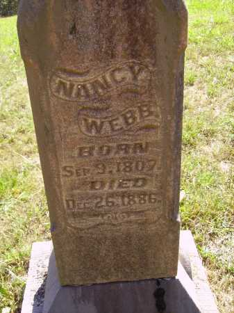 DAVIS WEBB, NANCY - Meigs County, Ohio | NANCY DAVIS WEBB - Ohio Gravestone Photos