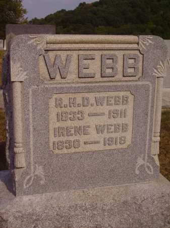 WEBB, REUBEN HOWE DAVIS - Meigs County, Ohio | REUBEN HOWE DAVIS WEBB - Ohio Gravestone Photos