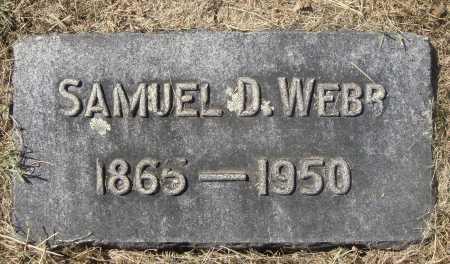 WEBB, SAMUEL DAVID - Meigs County, Ohio | SAMUEL DAVID WEBB - Ohio Gravestone Photos
