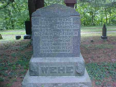 WEHE, WILLIAM - Meigs County, Ohio | WILLIAM WEHE - Ohio Gravestone Photos